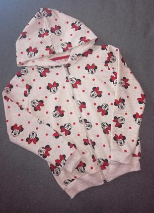 Джемпер кофта для девочки минни маус