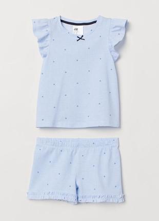Пижама  h&m р.98-104, 2-4 года