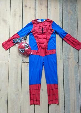 Карнавальный костюм спайдермен человек паук 9-10 лет