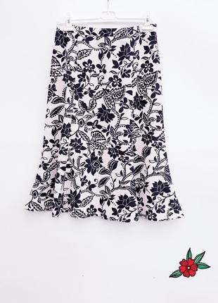 Красивая юбка миди летняя нарядная юбка миди
