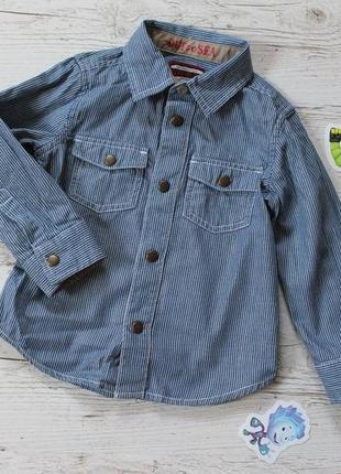 Рубашка mothercare 1,5-2 года 86-92см