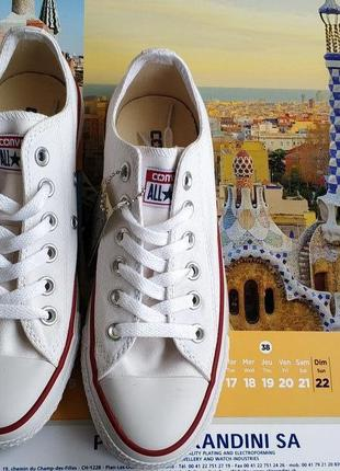 Converse all star optical white low. крутые кеды конверс, converse. оригинал