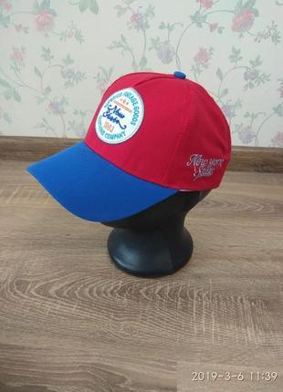 Бейсболка кепка яркая для мальчиков
