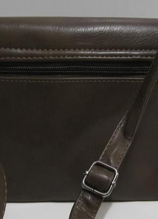 Женский клатч с клапаном (хаки) 19-02-0163 фото