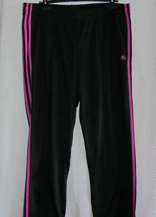 Черные спортивные брюки adidas,20-22р.