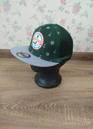 Бейсболка кепка реперка сетка