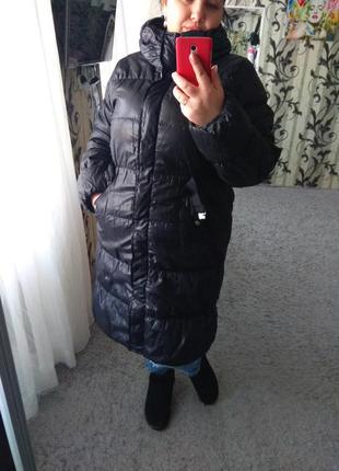 Женская курточка демисезонная удлиненная большой размер 52-54 xxl-xxxl