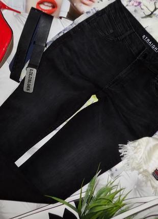 12/40 высокая талия,  базовые джинсы отменного качества