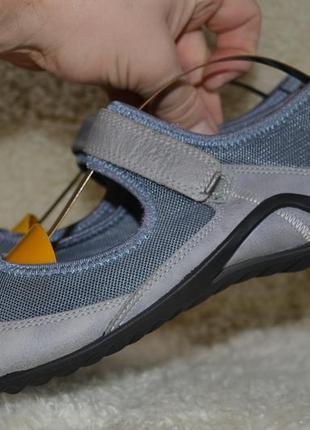 Ecco 38р балетки туфли кожаные. оригинал.