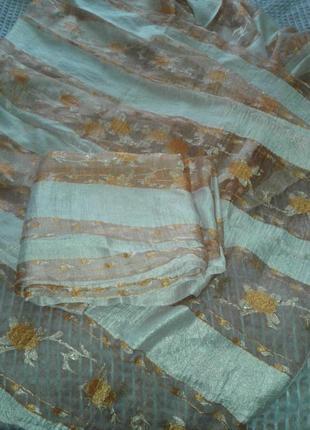 Тюли - шторы органза, готовый комплект6 фото