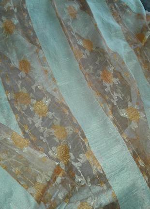 Тюли - шторы органза, готовый комплект4 фото