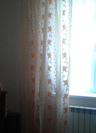 Тюли - шторы органза, готовый комплект8 фото