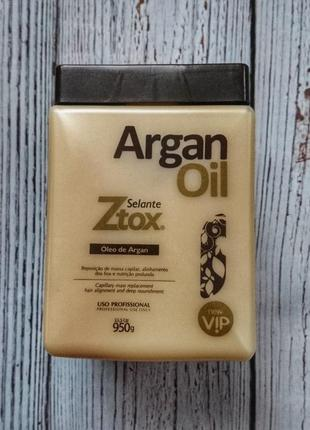 New vip argan oil ztox ботокс для волос