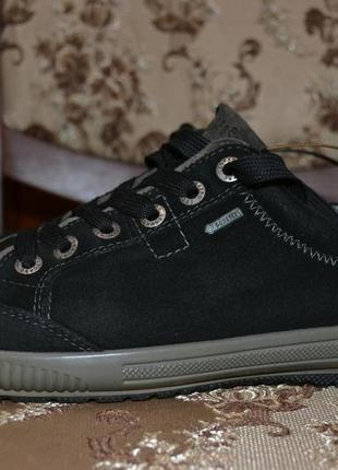 Legero 38р  туфли ботинки кожаные. gore-tex  сникерсы. демисезон.