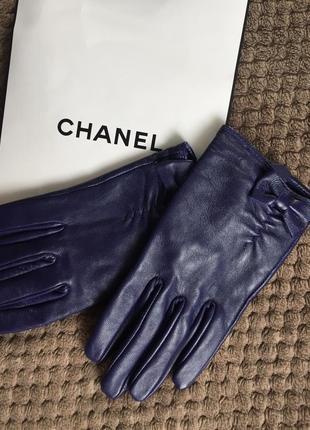 Классные сиреневые кожаные укорочённые перчатки asos