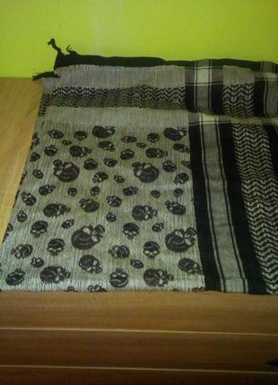 Бандана арафатка шарф платок черепа lovarzi