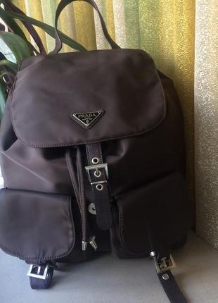 Рюкзак prada!