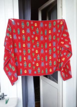 Fabric frontline zurich шелковый платок  шаль 68*135