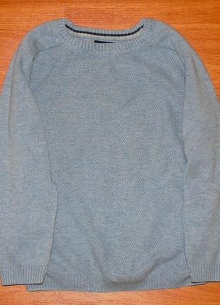 Голубой свитер,кофта,реглан next,некст, 2-3 года,98
