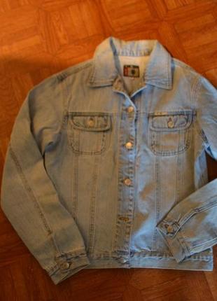 Джинсовая куртка madoc (m)