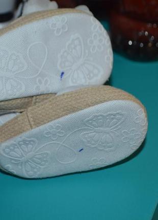 Пинетки босоножки малышке обувь3