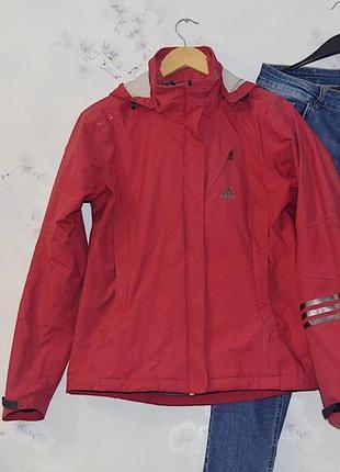 Розовая куртка adidas original