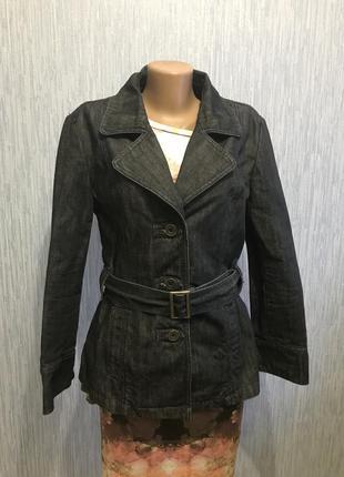 Шикарный джинсовый пиджак