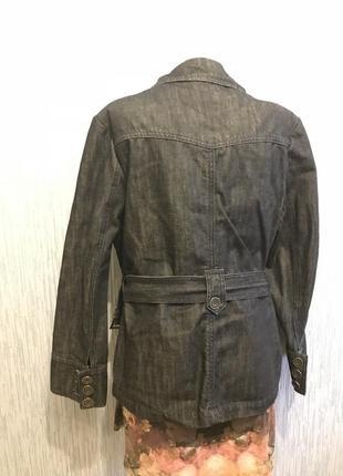 Шикарный джинсовый пиджак3 фото