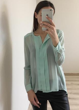 Шифонова блуза kira plastinina xs