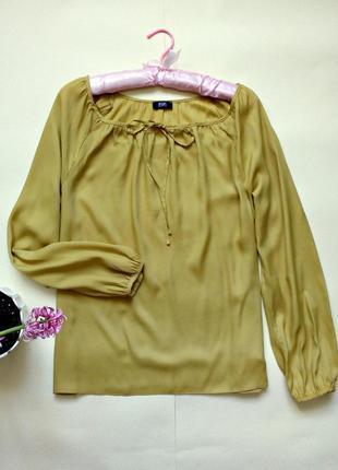 Очень легкая блуза с длинными рукавами 12-14