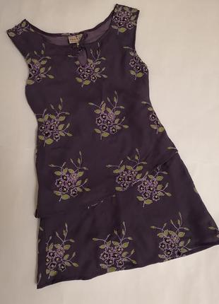 Лёгкое красивое платье next на 6 лет, рост 116 см