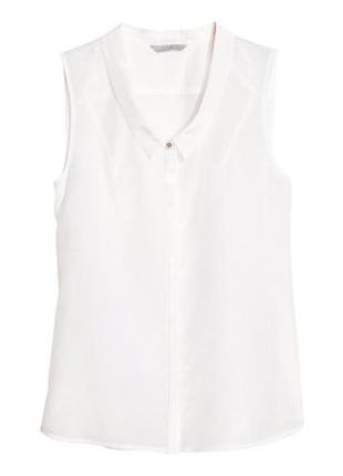 Блузка h&m шелковая