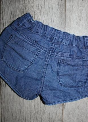 Шорты шортики джинсовые palomino 5 лет, рост 110 см.2