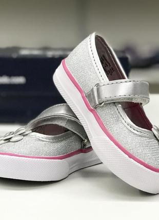 Легкие текстильные туфельки для малышки2 фото