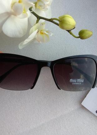 New 2019! новые стильные маленькие солнцезащитные очки, черные