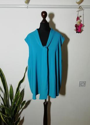 Шикарная блуза майка с бантом calvin klein