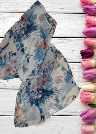 🐞🐞перезагружен + снижена цена легкий красивый шарф в цветочный принт германия 🐞🐞🐞1 фото