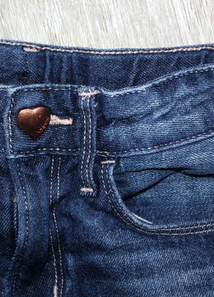 Джинсовые шорты шортики h&m 4-5 лет, рост 104-110 см.3