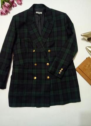 Шерстяной модный пиджак