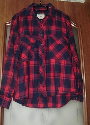 Zara woman -premium denim collection-  рубашка (м)