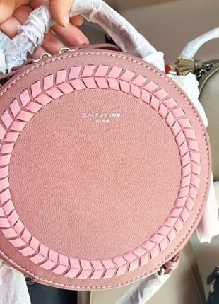 Фирменная круглая сумка david jones