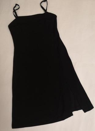 Чёрное платье nemo