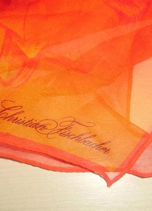 Christian fischbacher шелковый платок