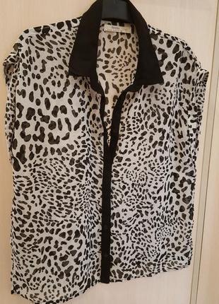 Блуза, рубашка наш 44