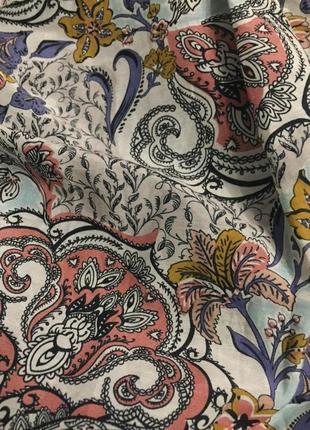 Безумно красивая💕 стильная 💕 нежная блуза/рубашка. состав: 80% коттон и 20% шелк6 фото