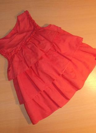 Нарядное платье, сарафан mothercare 1.5-2 года, 86-92 см, оригинал