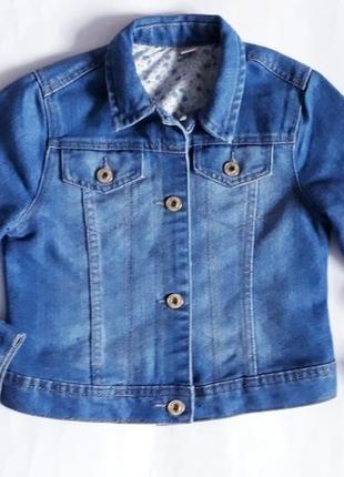 Джинсовый пиджак, куртка