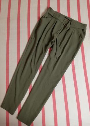 Брендовые хитовые брюки с кольцом хаки george