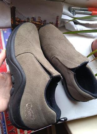 Кроссовки туфли cotton traders замш кожа спортивные 38 р 24 см