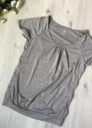 Фирменная футболка h&m, размер xs